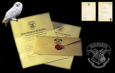 Halloween gift hogwarts admission letter for adult children surprise gift
