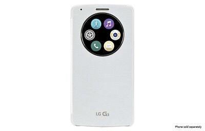 Genuine Official LG Quick Circle™ Snap-On Folio Case for LG G3™, usado segunda mano  Embacar hacia Argentina
