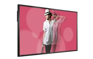 LG 84WS70MS-B 84 Class LED Widescreen Ultra HD Signage Display, 500 cd/m2, Dynamic CR: 500,000 : 1, 3840 x 2160 (Factor