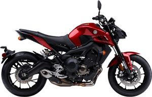 YAMAHA FZ09 ABS 2017 USAGE