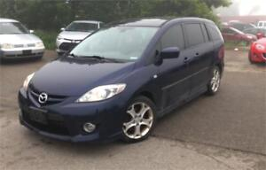 2008 Mazda MAZDA5 GS, 6 PASS,PL,PW,AC,RADIO,CERTIFIED