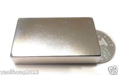 1pc Big Super Block Cuboid Magnets 50mm X 30mm X 10mm Rare Earth Neodymium N50