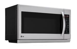 LG LMV2055ST Over-The-Range Microwave 2.0 Cu. Ft. Stainless Steel (Store Refurbished)***Read***