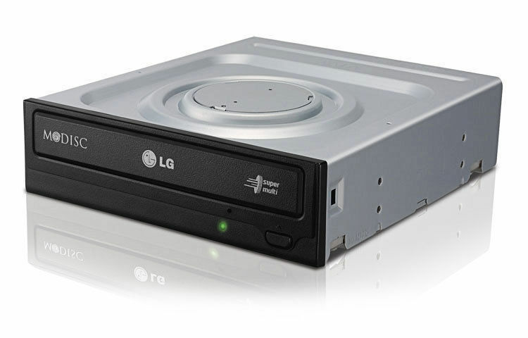 LG Electronics GH24NS95 LG (24X) DVD Rewriter SuperMulti with M-DISC Support