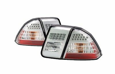 NEWMAR MOUNTAIN AIRE 2004 2005 2006 CLEAR LED TAILLIGHTS TAIL LAMPS RV - PAIR