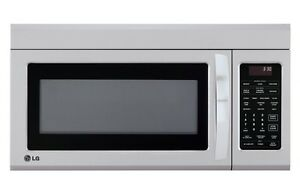Brand New -  LG 1.8 Stainless Steel Over-Range Microwave