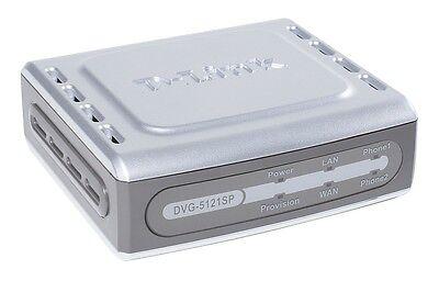 D-Link 2 Port VOIP SIP ATA IP Terminal Telefon analog Adapter Asterisk...