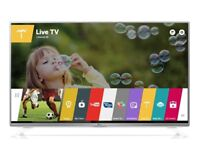 49 lg smart tv - web os -led - freeview play - usb recording