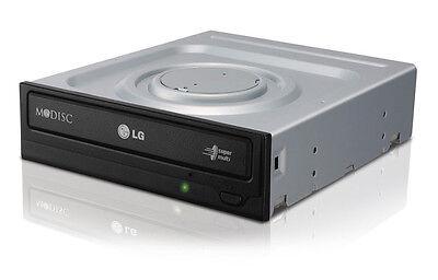 LG Internal Sata 24x Dvd Cd +/-r & Rw Dl Disc Burner Re-w...