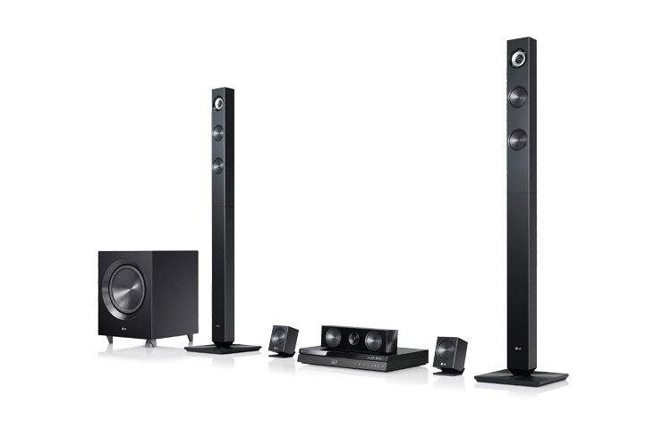 LG BH7420P 3D Blu-Ray 5.1 Channel 1100W Home Cinema System