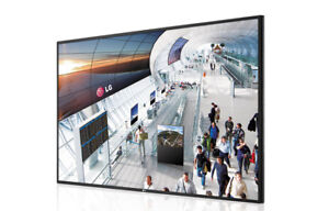 "55'"" LED Commercial Digital Signage Monitor TV, 55WS50BS"