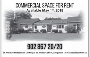 Commercial Space for Rent, Antigonish