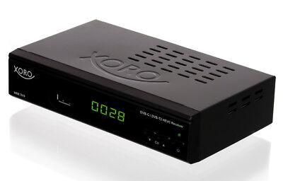 HD Cavo Ricevitore Xoro HRM 7620 digitale ( HRK 7660) kombó DVB-C RICEZIONE PVR