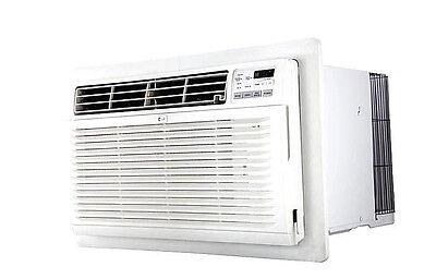 LG LT1037HNR - 10,000 BTU 220V TTW A/C w/ Heat: Remote & Install Hardware Incl