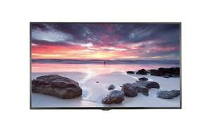 "LG 49UH5B-B 49"" Ultra HD Smart Commercial Display, 4K, 500cd/m2, HDMI, DVI-D, DP, RS232C, RJ45  (Open Box)"