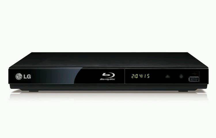 Lg blue ray player with usb