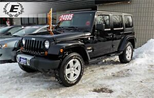 2011 JEEP WRANGLER SAHARA 4X4 | DONT PAY FOR 6 MONTHS!!! OAC