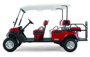2016 E-Z-GO Express L6 Golf Cart