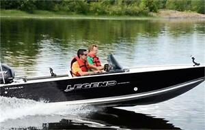 15' Legend Angler +25 HP! Side console [Optional motor upgrade!]