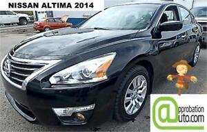 2014 Nissan Altima 2,5 S, À PARTIR DE 49$/SEM. 100% APPROUVÉ !