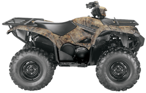 YAMAHA GRIZZLY DAE CAMO - CAMOUFLAGE REALTREE XTRA 2017