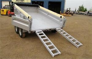 "72""x10Ft Tandem Axle Dumpbox (7,000 Lbs GVW)"