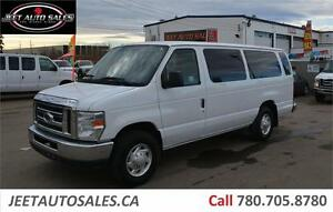2012 Ford XLT 15 PASSENGER VAN CRUISE CONTROL LOW KILOMETERS GAS