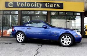 1997 Mercedes-Benz SLK230 Convertible 76K's Supercharged 194hp