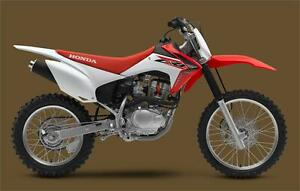 2016 Honda CRF150F - Save $500.00 !! Only $3899.00