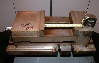 Kurt Ii Precision Machine Vise 8 Inch Open Width Inv.3350
