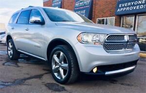 2013 Dodge Durango Citadel * $149 bi-weekly, NAV,Sun Roof &more
