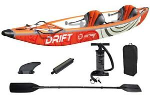 CRAZY SALE ! ZRAY Sports DRIFT Inflatable Kayak 14' Two Seat