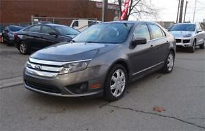 2010 Ford Fusion SE.Carproof Clean. Low Kms.