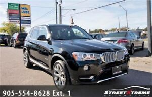 2017 BMW X3 xDrive28i |All Wheel Drive | Backup Cam | Pano Roof