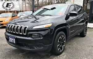 2015 JEEP CHEROKEE SPORT | NEW RIMS & TIRES