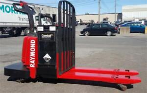TRANSPALETTE ELECTRIQUE USAGE ET NEUF TOYOTA HYSTER RAYMOUND