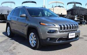 2017 Jeep Cherokee Limited 4x4