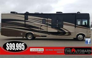 2011 GEORGETOWN 378XL - Triple Slide - Ford Chassis - V10 Motor