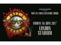 Guns and Roses (London Friday)