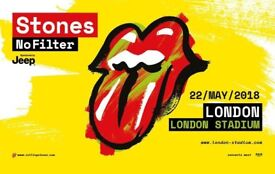 4 x Tickets THE ROLLING STONES with support by LIAM GALLAGHER on 22/05/2018