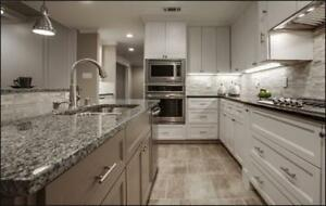 Quartz Counter tops - Fabricated and Installed - Professional and Competitive Prices