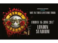 Guns N' Roses concert tickets in London - 16 June 2017 - Free Special Delivery