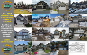 49 Chilliwack Promontory Dettached Homes Available, Starting At: