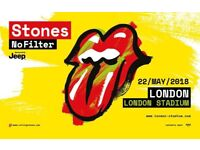 ROLLING STONES GENERAL ADMISSION TICKETS STANDING OLYMPIC LONDON STADIUM