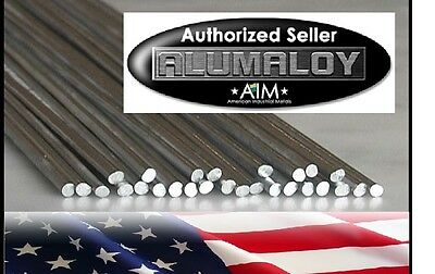 Alumaloy 5 Rods Aluminum Repair Rods No Welding Fix Cracks Use Propane Torch