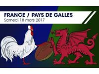 2 x France V Wales 6 nations tickets - Cat 1