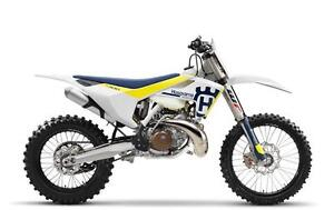 2017 Husqvarna TX300 White Off Road Motorcycle!