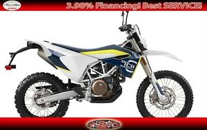 2017 Husqvarna 701 Enduro On & Off Road Motorcycle