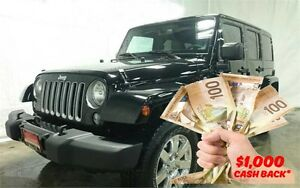 2016 Jeep Wrangler Unlimited Sahara | $155 Week