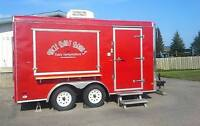 Fully operational concession trailer for sale